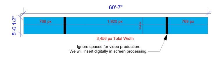 Header Screen Pixel Template