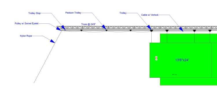 J2147 AE WSOS Screen Trolley